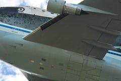航天飞机发现特写镜头 免版税库存图片