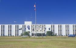 航天飞机引擎试验基地主楼,斯坦尼斯航天中心,汉考克县,密西西比 库存照片