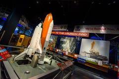 航天飞机美国航空航天局肯尼迪航天中心 免版税图库摄影