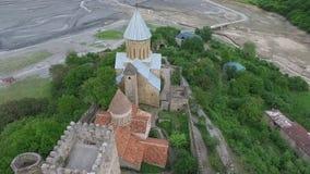 航测修道院Ananuri,乔治亚 股票视频