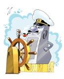 航海互联网信息网页 免版税库存照片
