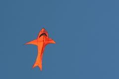 航空五颜六色的风筝 免版税库存照片