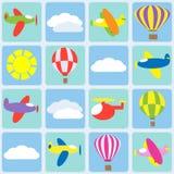 航空交通 向量例证