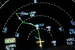 航空仪表 免版税库存图片