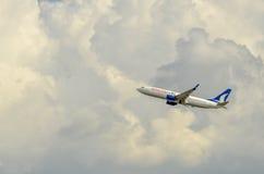 航空例证平面向量 免版税库存图片