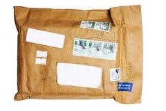 航空信包邮件 图库摄影