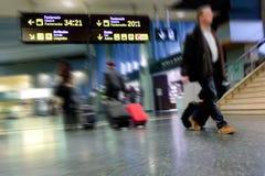 航空公司乘客 免版税库存照片