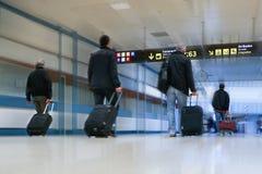 航空公司乘客 库存照片
