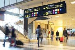 航空公司乘客 图库摄影