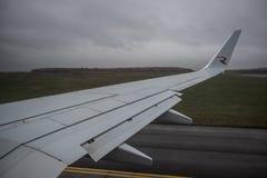 航空公司俄罗斯波音737-800的飞机 免版税库存图片