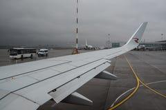 航空公司俄罗斯波音737-800的飞机 图库摄影