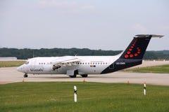 航空公司布鲁塞尔 库存图片