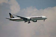 航空公司新加坡 库存照片