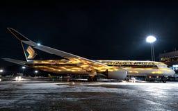 航空公司新加坡 免版税库存图片