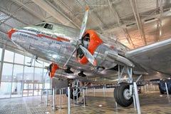 航空公司美国人博物馆 免版税库存图片