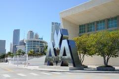 航空公司美国竞技场迈阿密 免版税图库摄影