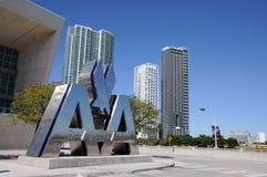 航空公司美国竞技场迈阿密 免版税库存照片