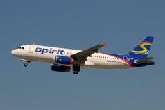 航空公司飞机喷气机乘客精神 图库摄影