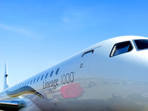 航空包的飞机 免版税库存照片