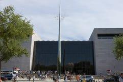 航空博物馆国民空间 免版税图库摄影