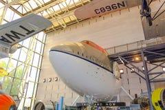 航空博物馆国民空间 库存照片