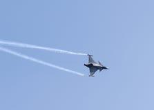 航空印度展示 库存图片