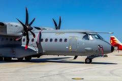 航空器住处C-295 免版税库存照片