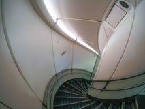 航空器内部台阶 库存图片