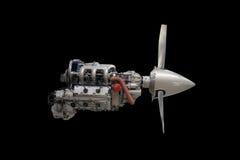 航空器发动机 库存图片