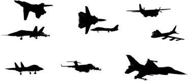 航空器图象向量 库存图片