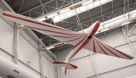 航空器在航天学和航空勒布尔热博物馆  库存图片