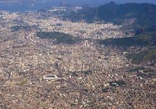 航空器查看的巴西 免版税库存照片