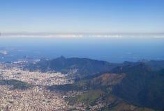 航空器查看的巴西 免版税图库摄影