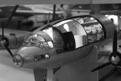 航空器比例模型特写镜头 免版税库存图片