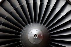 航空器涡轮 库存图片