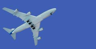 航空器离开 免版税库存照片