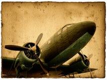 航空器葡萄酒 库存图片