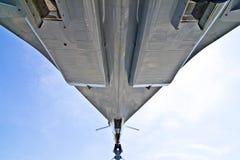 航空器超音速的协和飞机 库存图片