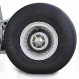 航空器轮胎 库存照片