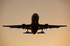 航空器飞行 库存图片