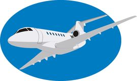 航空器 向量例证