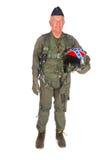 航空器americain乘员组 库存图片