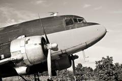 航空器C-47葡萄酒 库存照片