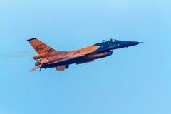 航空器F-16演示队 免版税库存照片