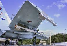 航空器Su27战斗机空气霸权 免版税库存图片