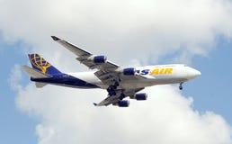航空地图集喷气机庞然大物 免版税图库摄影