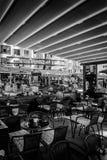 航空开放餐馆 库存图片
