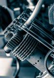 航空引擎活塞 图库摄影