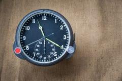 航空手表 库存图片