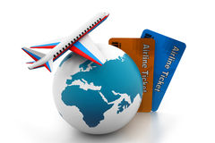 航空旅行概念 图库摄影